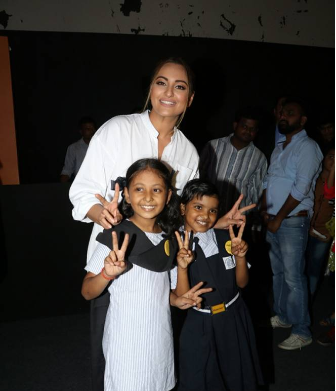 Sonakshi Sinha during Nanhi Kali's Event 'Proud Fathers For Daughters'