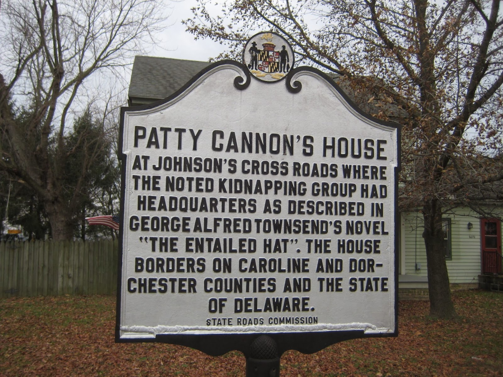 Landmarks: Patty Cannon and th...