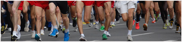 Beogradski maraton - noge