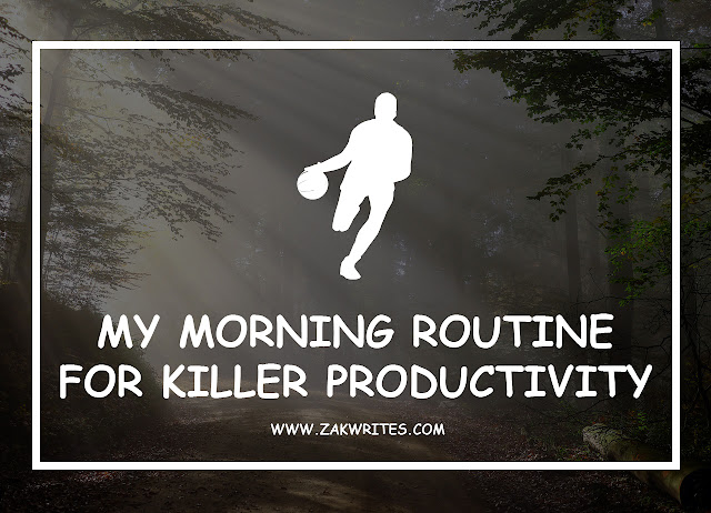 my productive morning routine, morning routine for productivity, morning routine tips, tips for a productive morning, routine that promotes productivity