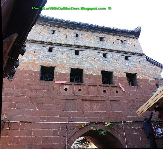 Wall gate, Phoenix Fenghuang County, Hunan, China