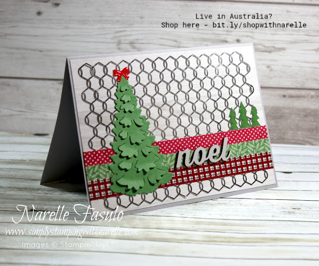 Don't like stamping? Then how about making a card like this. Not a stamp in site. Get all your crafting supplies here - http://bit.ly/shopwithnarelle