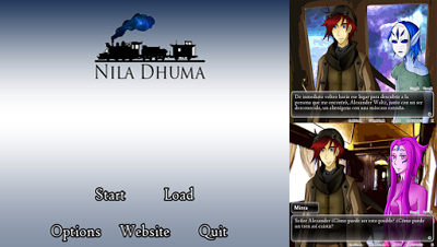 Nila Dhuma Kinetic Visual Novel for PC and Android