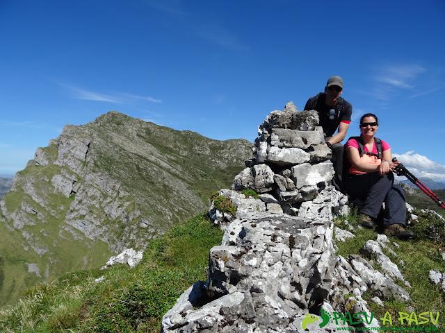 Ruta al Pierzu desde Priesca: Cima de la Huérfana