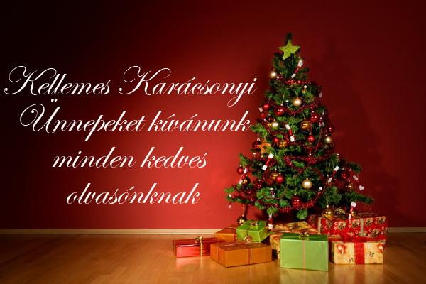 Boldog Karácsonyt minden kedves olvasónak!