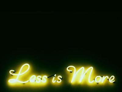 minimalist philosophy, simplicity, life