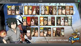 Download Naruto Senki Mod Storm 4 by MR.Naruto Apk