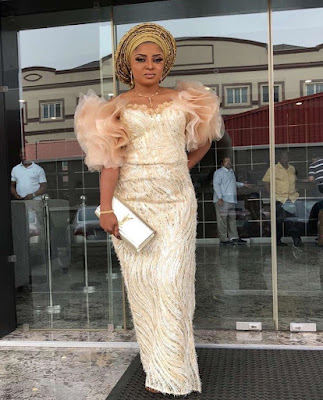 Gorgeous and Stunning Aso-Ebi Styles 2018 You Should See