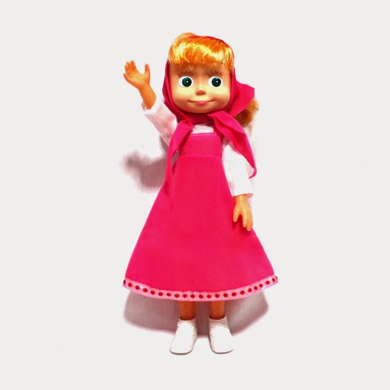 Download gambar boneka masha untuk anak