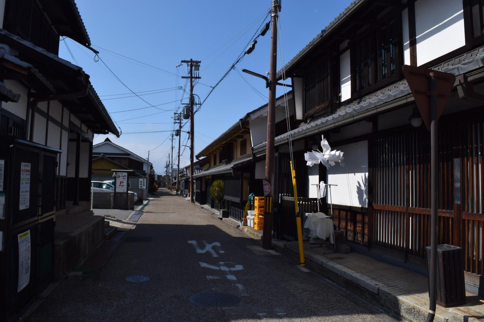 Hikone Japanese town