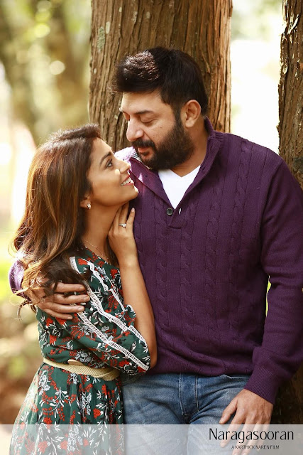 Arvind Swami & Shriya Saran Latest Stills in Naragasooran