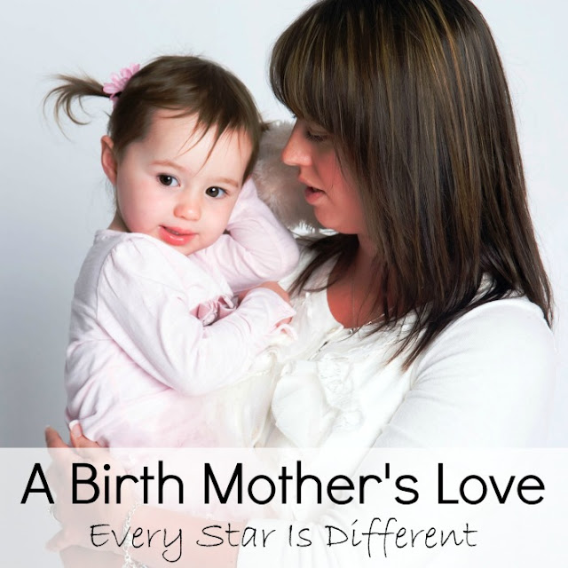 The story of how one girl begins to understand her birth mother's love.