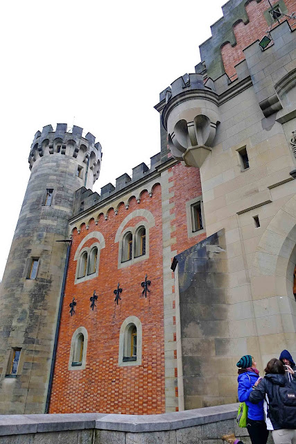 Neuschwanstein Castle Entrance
