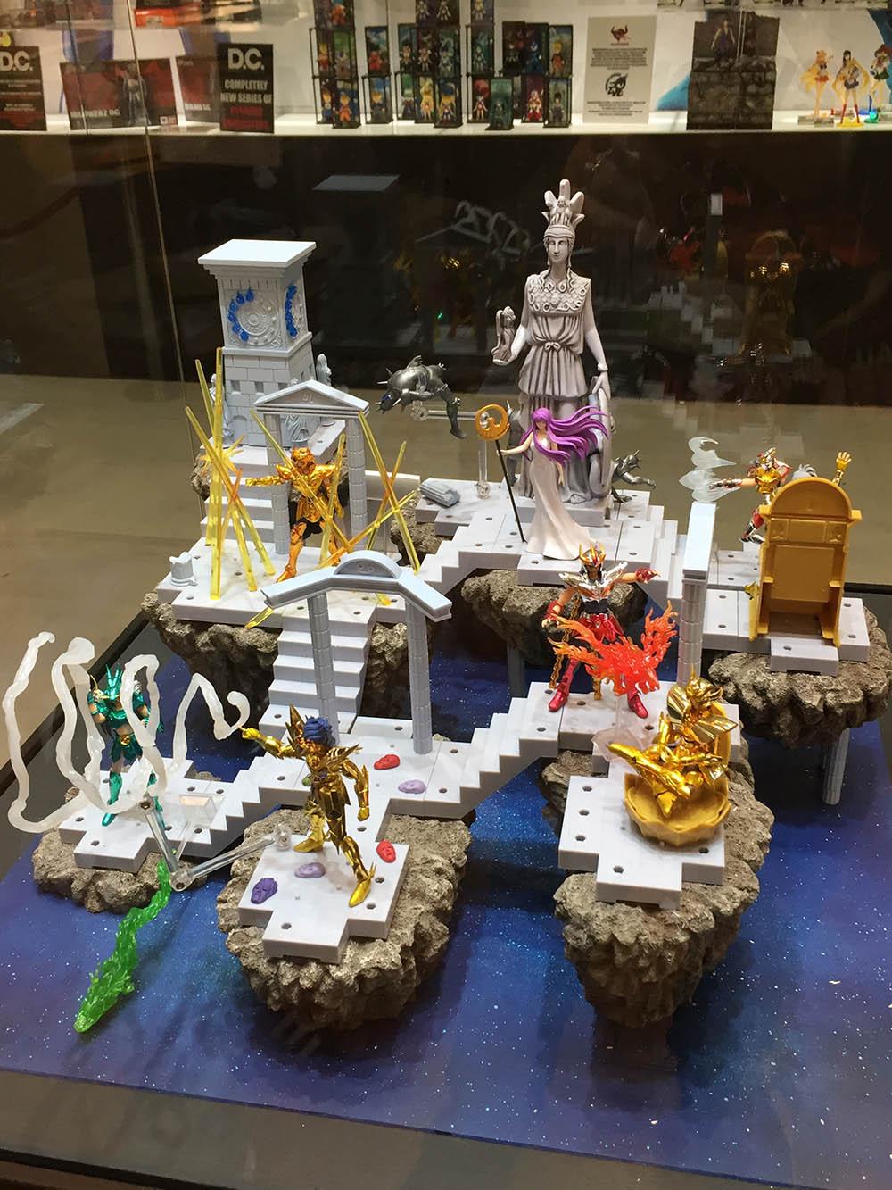 zio fester lampadina : Il diorama de lle case dello Zodiaco ottenuto unendo i vari pezzi ...