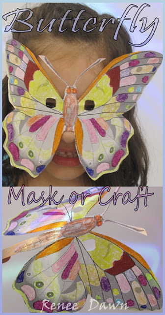 http://teacherink.blogspot.com/2015/05/butterfly-masks.html