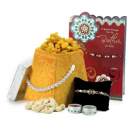 Tie a knot this Rakhsha Bandhan with Trendybharat's Rakhi's collection