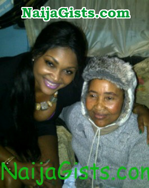 mercy aigbe mother beat her