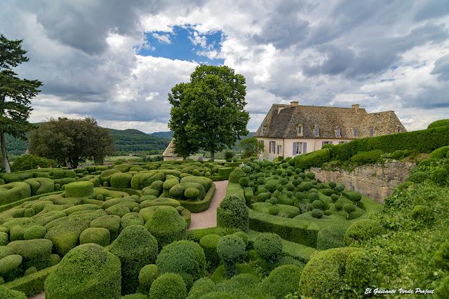 Jardines Colgantes de Marqueyssac - Vezac, Francia por El Guisante Verde Project
