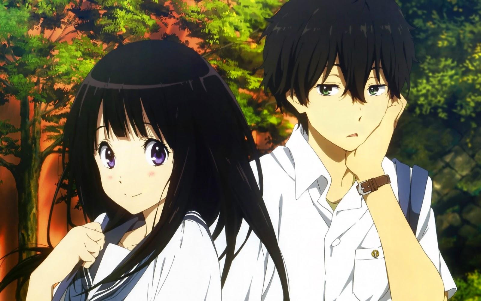 Gambar Pasangan Romantis Anime
