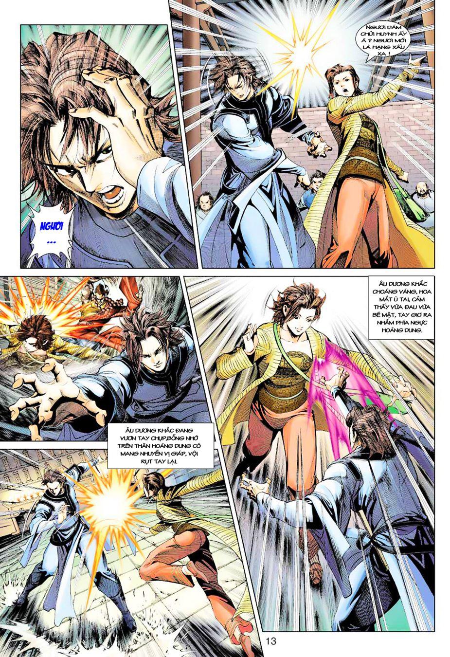 Anh Hùng Xạ Điêu anh hùng xạ đêu chap 35 trang 14
