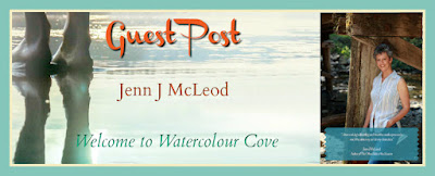 Guest Post | Welcome to Watercolour Cove | Jenn J McLeod