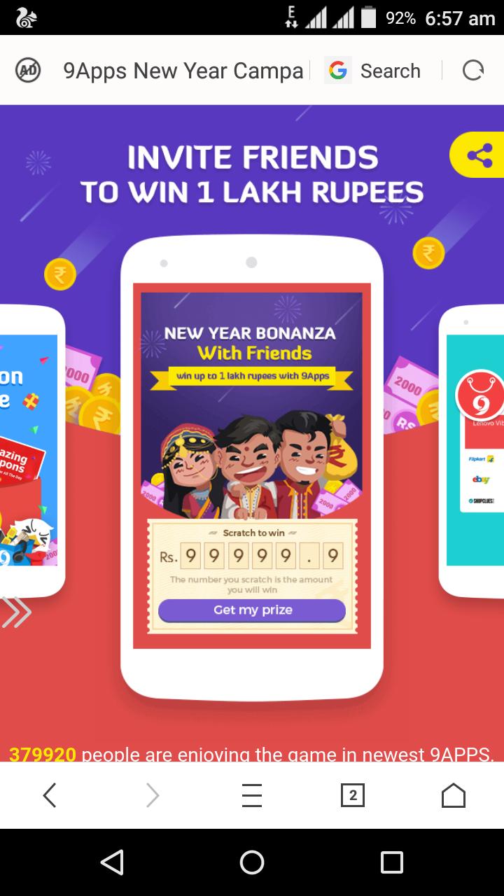 Technical gurmej: Win 1 lakh paytm cash from 9apps [HINDI]