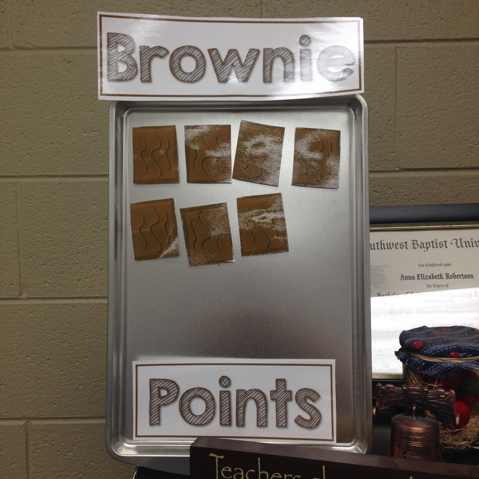 Brownie Points A Cheap Behavior Management Strategy