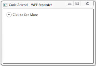 Collapsed WPF Expander with style and DataGrid inside of it