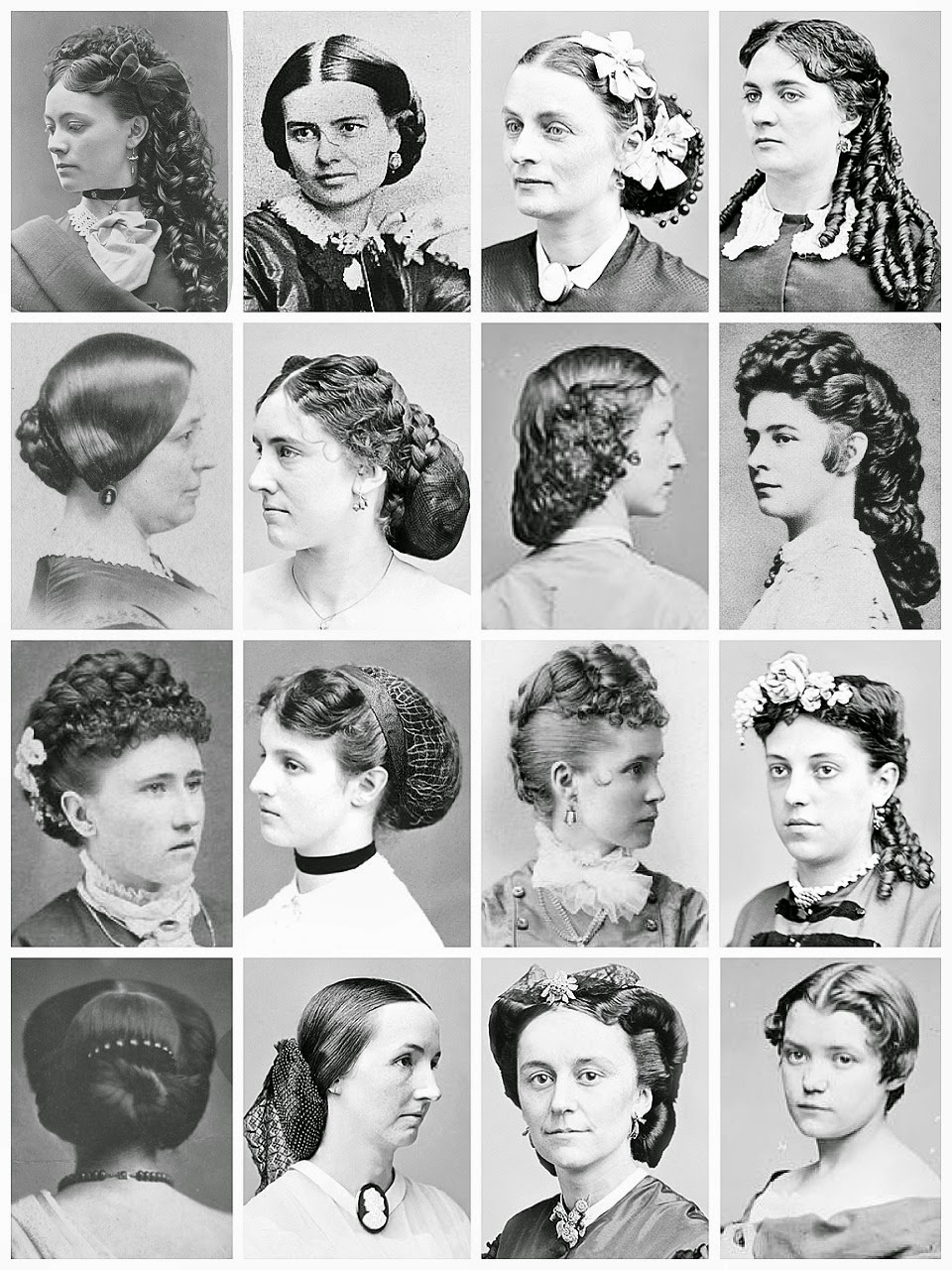 Swell Gothic Horror Mid Late Victorian Hairstyles 186039S 189039S Short Hairstyles For Black Women Fulllsitofus