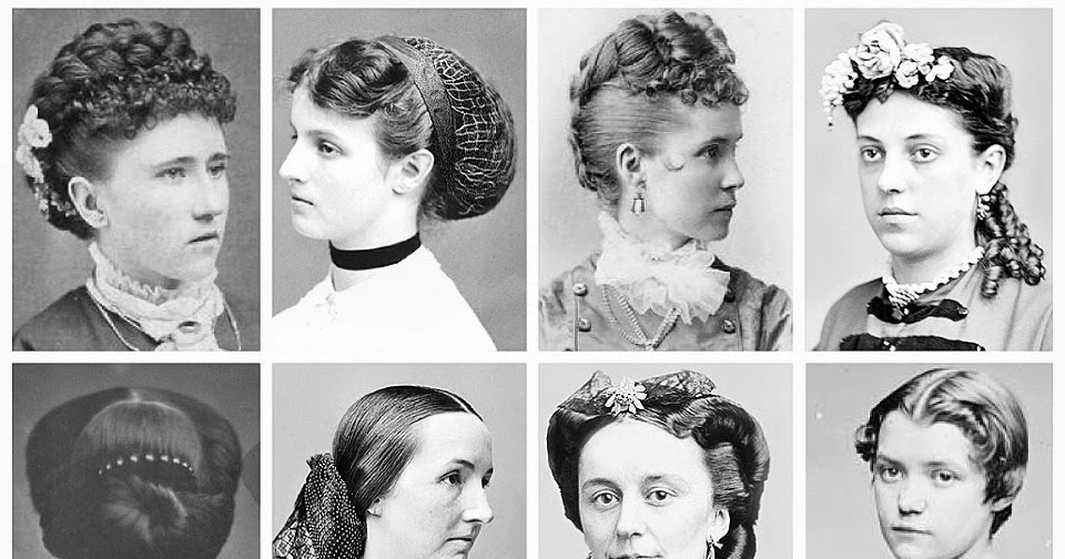 Victorian Hair Styles: Gothic Horror: Mid/late Victorian Hairstyles (1860's