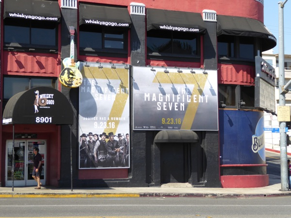 Magnificent Seven movie posters Whisky A Go-Go