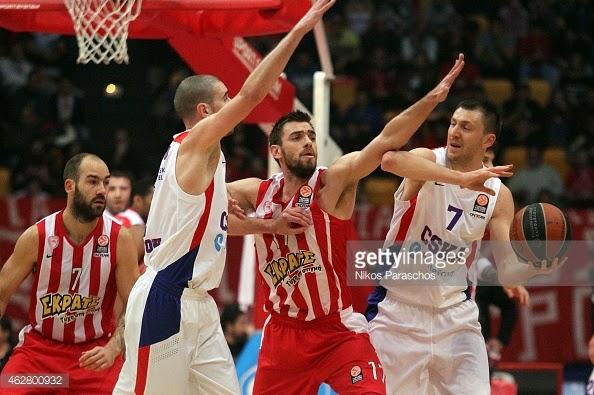 Ανάλυση του παιχνιδιού Ολυμπιακού – CSKA  ( βάση των 5δων , στους starters, τους παίκτες που έρχονται από τον πάγκο )…