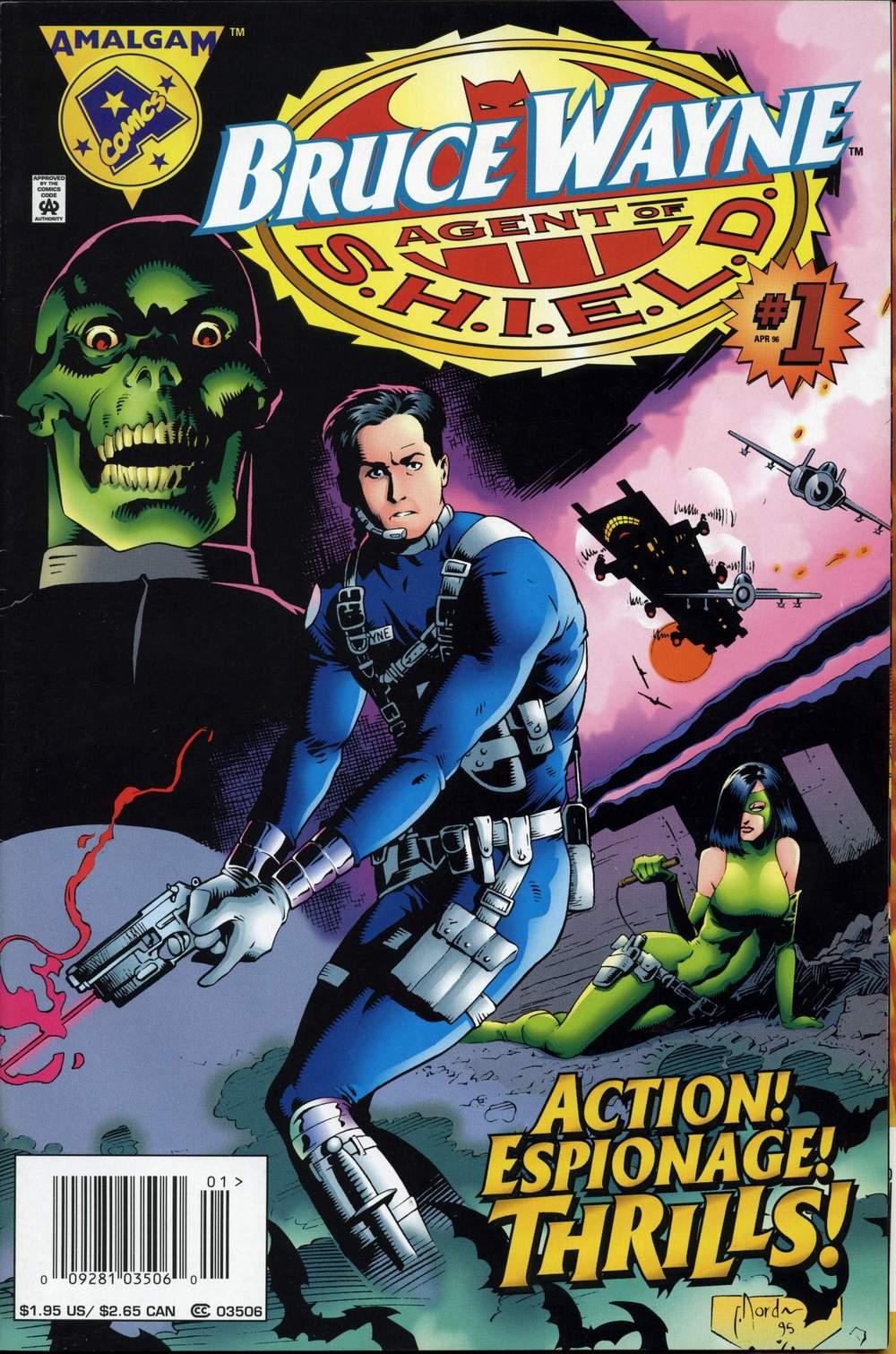 Amalgam' 03 06) Bruce Wayne, Agent of S H I E L D  V1996