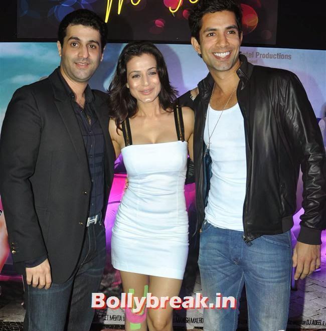 The poster launch of film Desi Magic