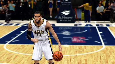 NBA 2K13 D.J. Augustin Cyberface NBA2K Patch