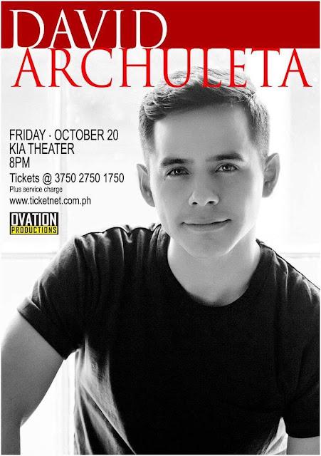 2017 David Archuleta Concert Live in Manila on October 20
