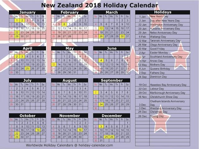 2018 Holiday Calendar, 2018 Holidays, 2018 Calendar with Holidays, 2018 Calendar with US Holidays, 2018 Calendar with UK Holidays, 2018 Calendar with Canada Holidays
