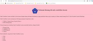 Cara mudah membuat website dengan html menggunakan frameset untuk pemula