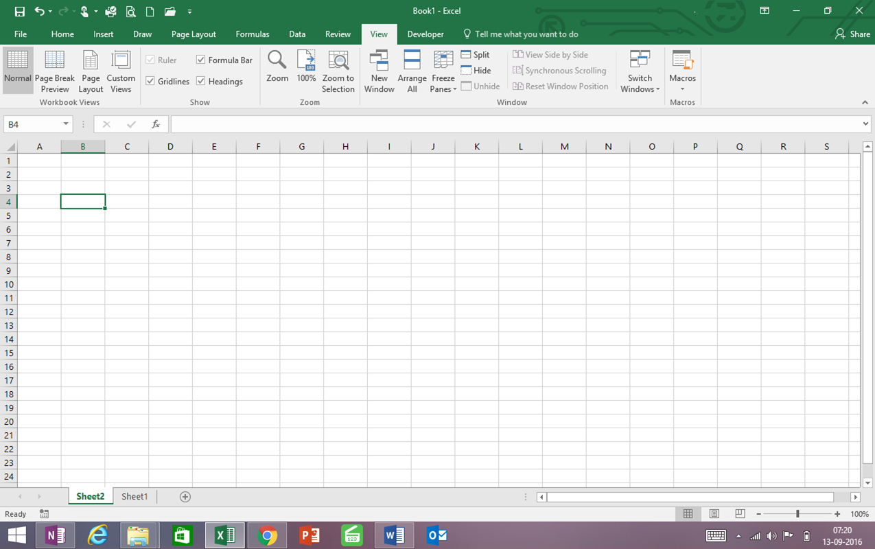 What You Need To Know In Excel Screen