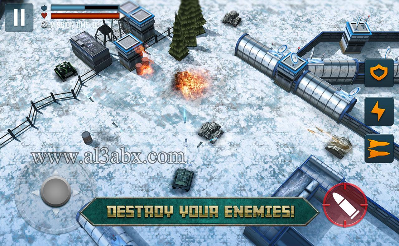 تحميل لعبة Tank Battle Heroes اخر اصدار مهكرة