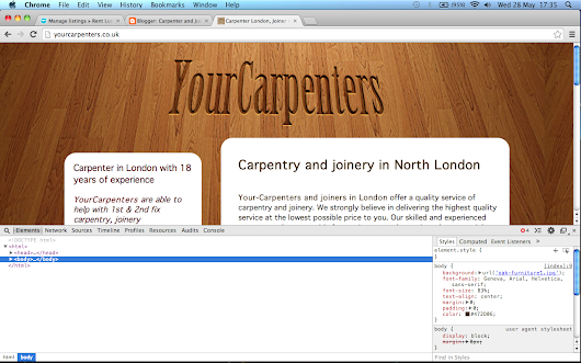 Carpenter and Joiner in North London