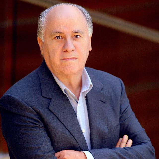 Image result for Billionaire Zara's founder, Amancio Ortega