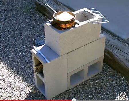 North logan 14th rs for How to make a rocket stove