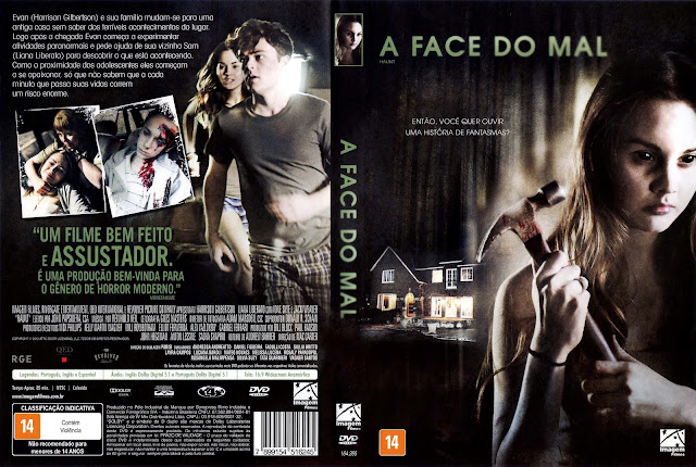 Capa DVD A Face do Mal