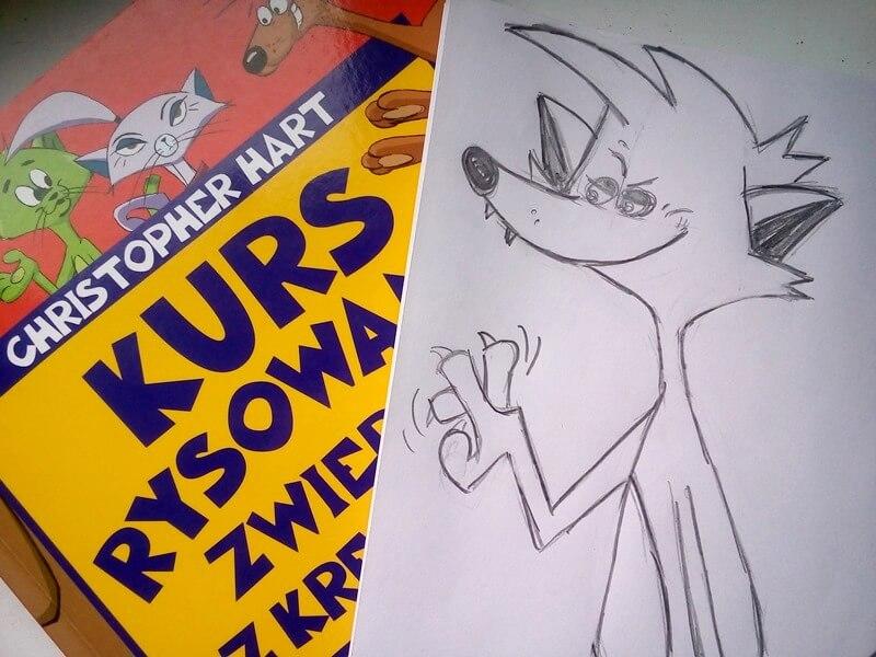 rysowanie z kreskówek