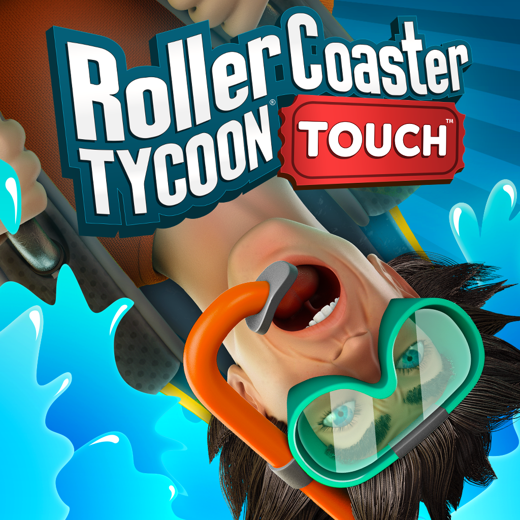 Build Your Own Aquatic Mega-Playground With The New Water Park Expansion For Atari's RollerCoaster Tycoon® Touch™
