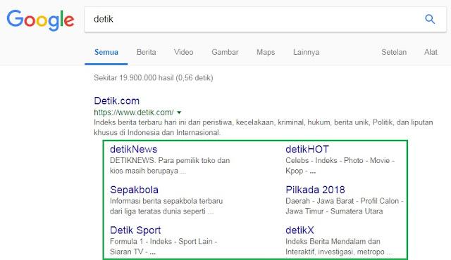 Sitelink Detikcom