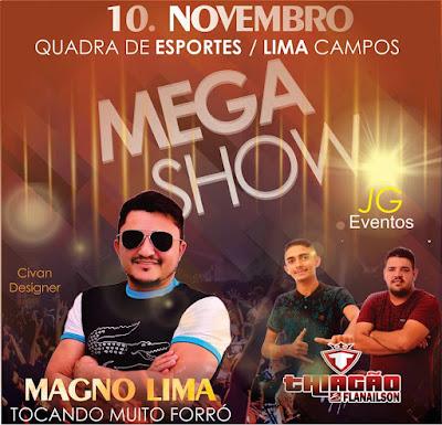 MEGA SHOW EM LIMA CAMPOS