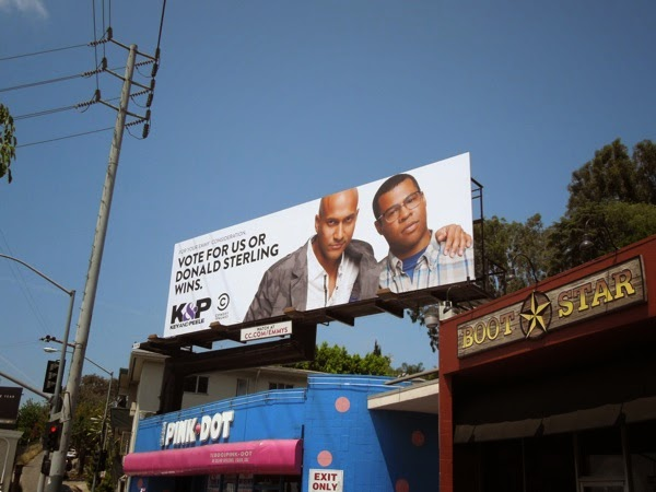 Key & Peele Donald Sterling Emmy 2014 billboard