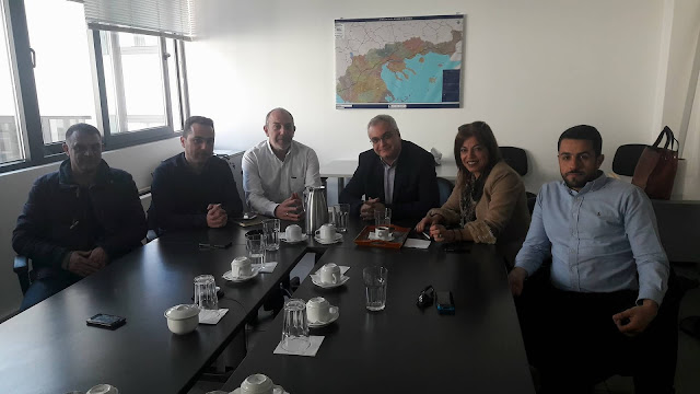 Συνάντηση με τον Πρόεδρο της Εγνατίας ΑΕ είχε η δήμαρχος Σουλίου